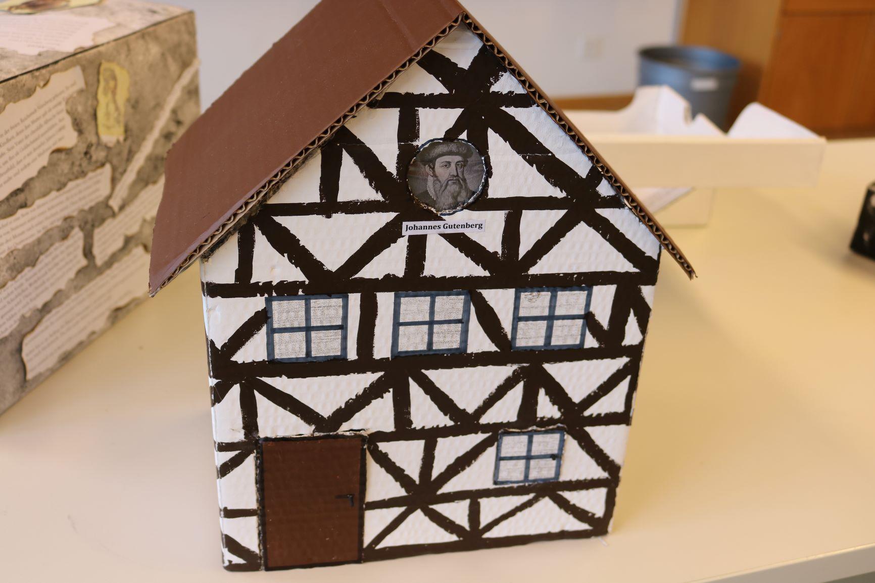 Schachtel-Haus